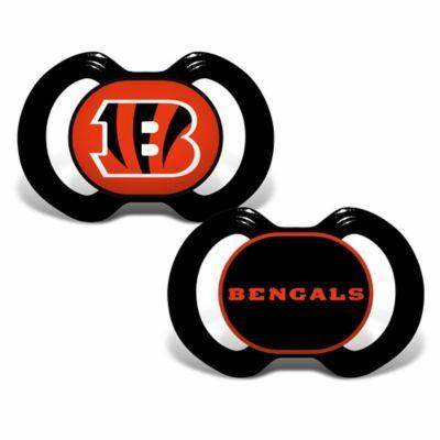 c6f268af4 Baby Fanatic® Gen. 3000 NFL Cincinnati Bengals 2-Pack Pacifiers