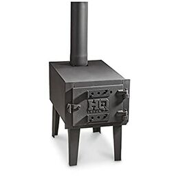 guide gear small outdoor wood stove