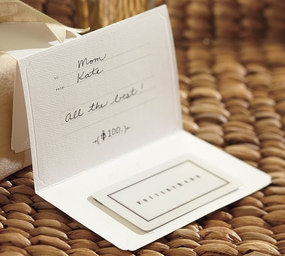Chana lewis beau swartzbaugh wedding registry pottery barn gift cards pottery barn junglespirit Image collections