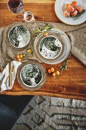 Kristin imhoff scott findlay wedding registry moonlit forest dessert plate junglespirit Choice Image