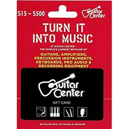Guitar Center Gift Card 100
