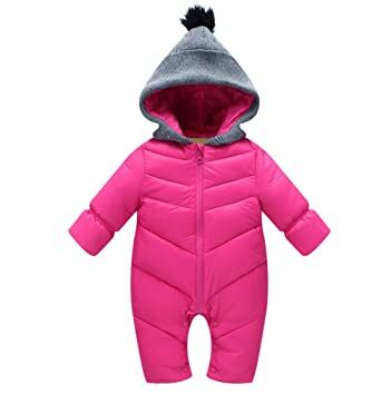 Clothing, Shoes & Accessories Aggressive Grey Furry Baby Snowsuit 0-6 Months Sturdy Construction Baby & Toddler Clothing