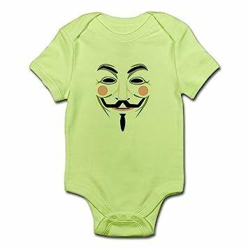 efe0811e8 CafePress Anonymous Cute Infant Bodysuit Baby Romper