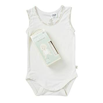 d5830de686 Boody Body Baby EcoWear Sleeveless Onesie - Soft Cooling Infant Bodysuit  made from Natural Organic Bamboo - Soft Breathable Snap Bottom for  Sensitive Skin ...