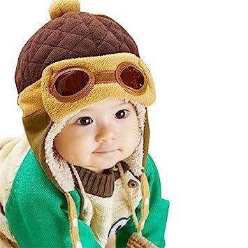 16aef07eae7 Creazy Cute Baby Infant Boy Girl Stripe Beret Cap Peaked Baseball Hat  (Earflap 3)