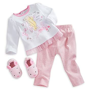 97bbad97ccf33 Disney Winnie the Pooh Slipper Set for Baby - Pink Size 6-9 MO