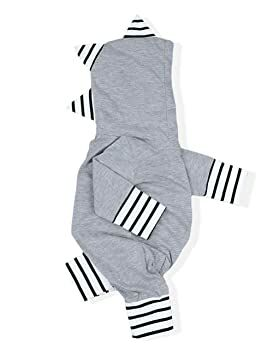1b3a031c771 YOUNGER TREE Infant Baby Boys Girls Long Sleeve Romper Cute Funny Dinosaur  Bodysuit Jumpsuit Fall Winter Outfit Clothes (Gray