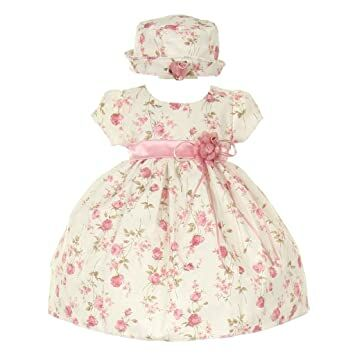 4b85585688 Cinderella Couture CinderellaCouture-ME839-rose Printed Jacquard Baby Dress
