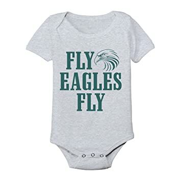 Fly Eagles Fly Football New England 2018 Patriots Bowl Party Baby One Piece  Newborn Gray 892e44032