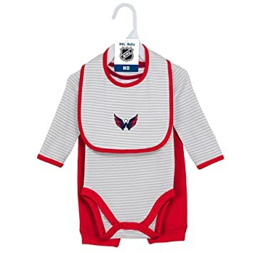 26a2444f881 NHL Washington Capitals Layette Newborn Interception Onesie