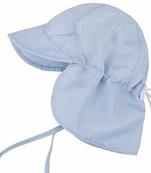 cb135c761f2 SimpliKids UPF 50+ UV Ray Sun Protection Baby Hat w  Neck Flap   Drawstring