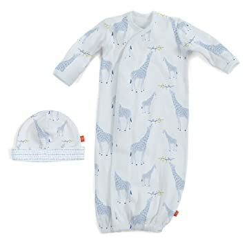 5d10f3f22 Magnificent Baby Baby Infant Magnetic Single Gown (Blue, Newborn - 3 Months)