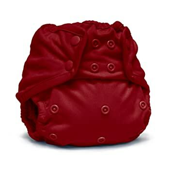 37580a0a7 Rumparooz One Size Cloth Diaper Cover Snap, Scarlet