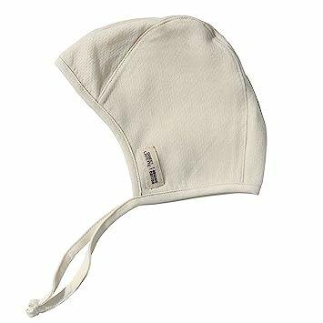 d94c444ad3b Sweet Layette Newborn Bonnet Cap - Baby Pilot Hat - 100% Certified Organic  Cotton (0-2 Months