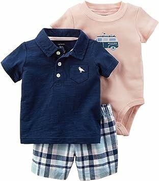 Carter s Baby Boys  3 Piece Little Short Set 6 Months 04d6989a1