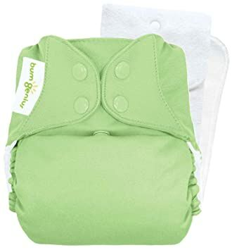 324cf5b6d bumGenius Original One-Size Pocket-Style Cloth Diaper 5.0 (Grasshopper)
