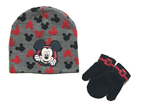 998735ad7 Mickey Mouse Baby Boys Toddler Winter Hat & Mitten Set