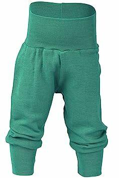 3-12 Months Pink Disciplined Baby Pants-bottoms 100% Merino Wool/bamboo