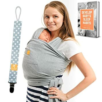 Cuddler Baby Wrap Carrier Sling Regular And Plus Size Newborn To