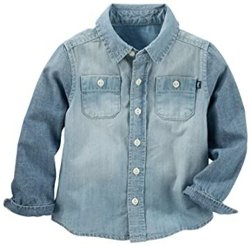Boys' Clothing (newborn-5t) Disciplined Oshkosh Jeans With Detachabe Overalls 18months Nwt