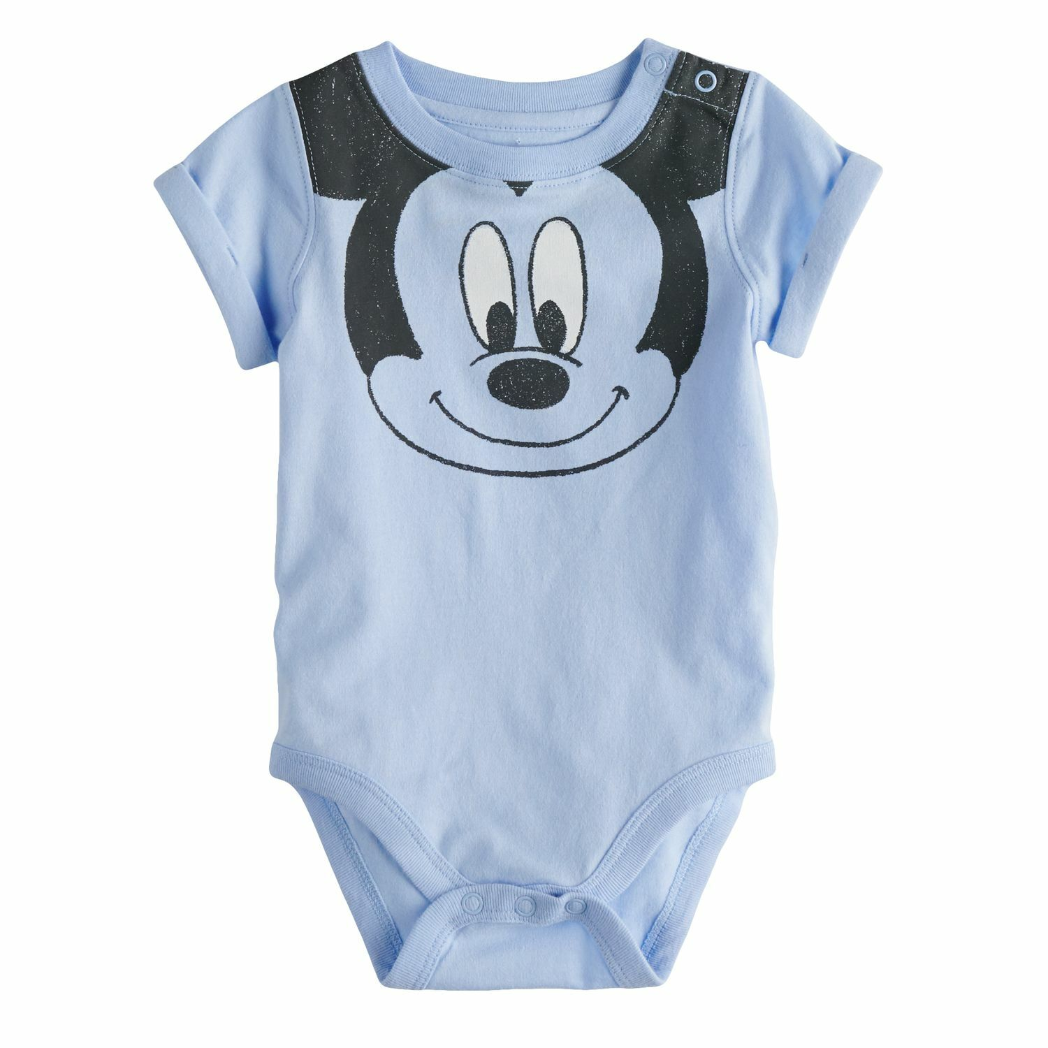 a36d33228 Disney's Mickey Mouse Baby Boy Smile Graphic Bodysuit by Jumping Beans