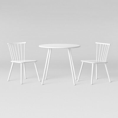 4605c679f253 Metal Windsor Table And Chair Set White - Pillowfort™