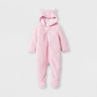 b604fd22300 Baby Girls  Bear Bunting - Cloud Island™ Pink 3-6M