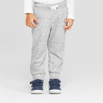 c27bab1e1fe Toddler Boys  Cozy Back Pull-On Jogger Pants - Cat   Jack™ Heather Gray 12M