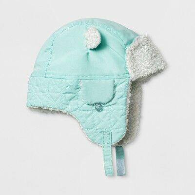 Baby Boys  Trapper Hat - Cat   Jack™ Blue 0-6 M cddfdb8002bf