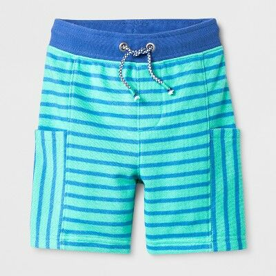a1ce22a90 Toddler Boys' Pull on Shorts - Cat & Jack™ Electra Blue 12M