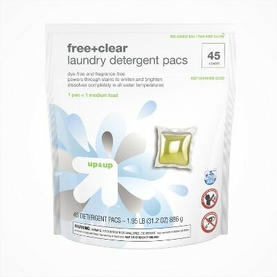 83fba0156ca Free   Clear Single Dose Laundry Detergent Pacs 45ct - Up Up™