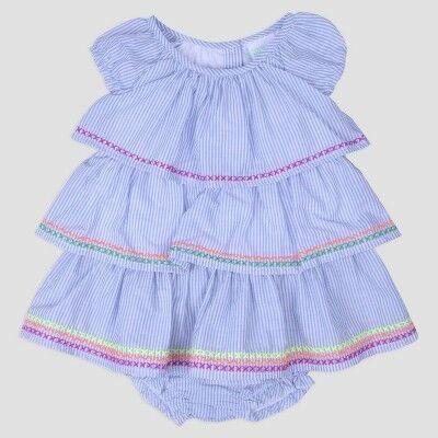 b4735f2e6 Nate & Annee by Nannette Baby Girls' Tiered Dress - Purple 9M