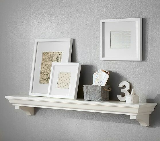 Classic 4 Ft Shelf, Simply White