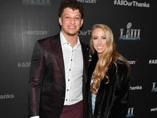 Patrick Mahomes and girlfriend Brittany Matthews