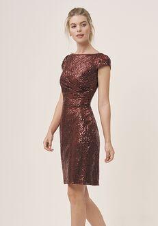 JASMINE P196063K Bateau Bridesmaid Dress
