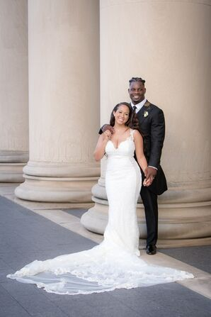 Glamorous White Wedding in Kansas City
