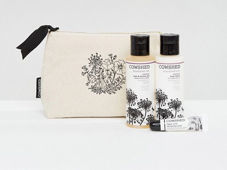 Cowshed ​knackered cow relaxing essentials gift set