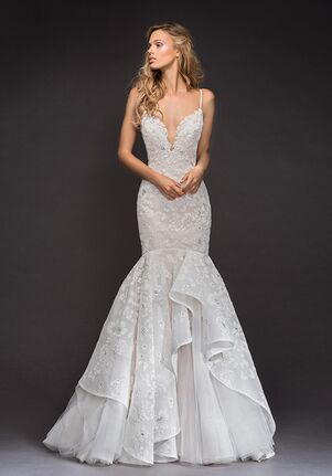 Hayley Paige 6801-Ronnie Mermaid Wedding Dress