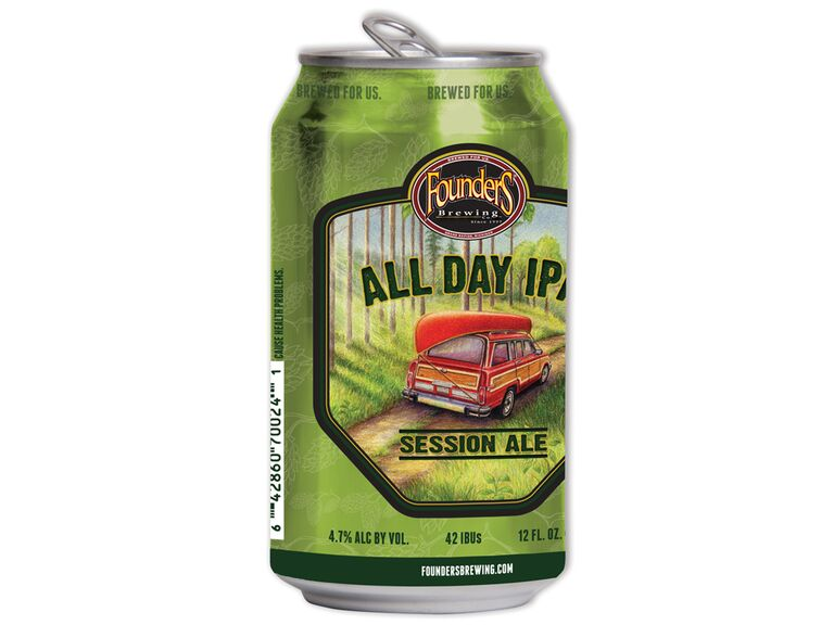Founders All Day IPA beer can