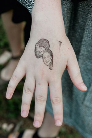 Personalized Temporary Tattoo Favors
