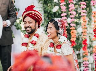 In just seven months, Danielle Wang (30 and an attorney) and Rohan Kalyan (35 and a professor) pulled off a two-day affair with three ceremonies and f