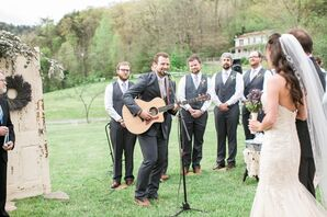 Groom Sings Bridal Processional Song
