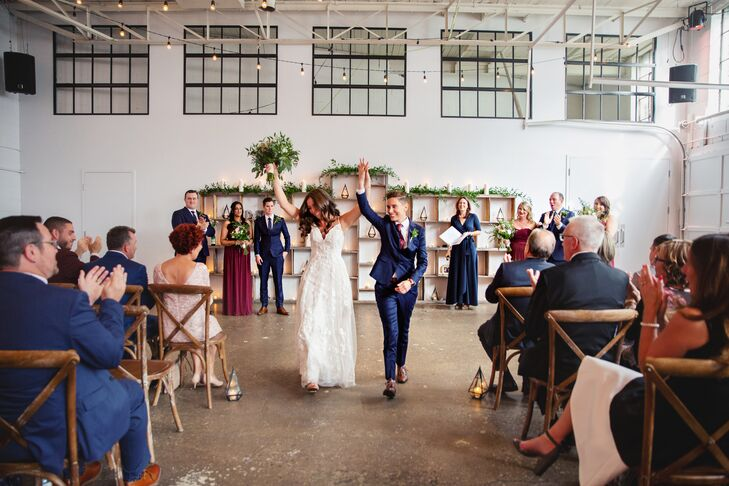Rustic-Chic Loft Ceremony