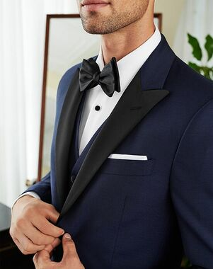 Men's Wearhouse Joseph Abboud Custom Tuxedo Blue Tuxedo