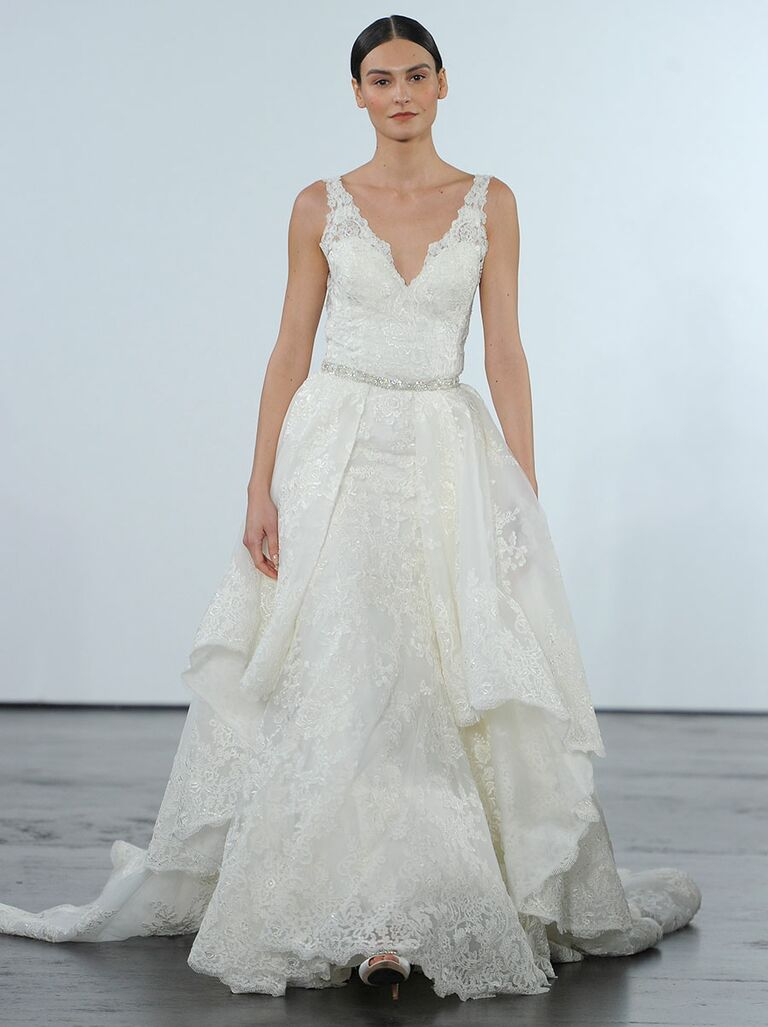 Dennis Basso for Kleinfeld Fall 2018 Collection: Bridal Fashion Week