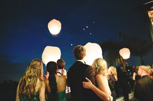 Paper-Lantern Release Ceremony