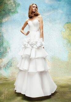 Viktor&Rolf Mariage WILD ROSES TIERED GOWN A-Line Wedding Dress
