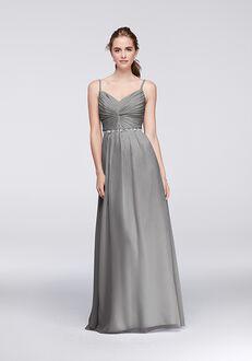 David's Bridal Collection David's Bridal Style W11147 V-Neck Bridesmaid Dress