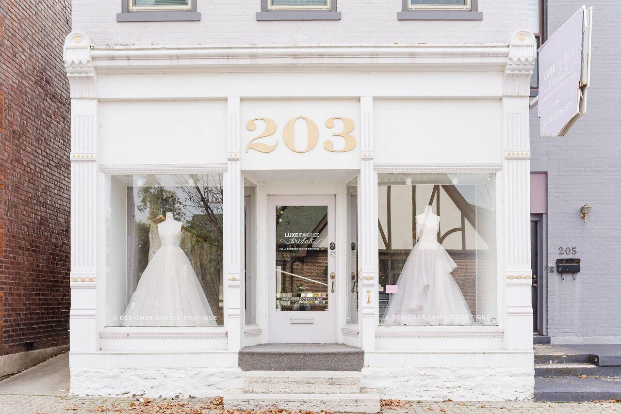 Luxe Redux Bridal Boutique Bridal Salons Cincinnati Oh