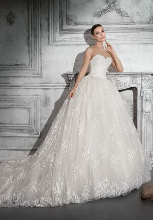 Demetrios 785 Ball Gown Wedding Dress
